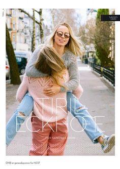 42 norske kofter - fra Lindesnes til Nordkapp - Sandnes Garn Lace Patterns, Baby Knitting Patterns, Norwegian Knitting, Rainbow Sweater, Shrug Cardigan, Yarn Shop, Top Pattern, Comfortable Outfits, Knitted Hats
