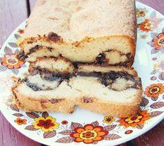 nutella-swirl pound cake