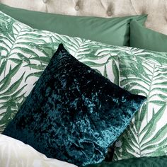 Shop for Wilko Green Crushed Velvet Cushion 43 x at wilko - where we offer a range of home and leisure goods at great prices. Aw18 Trends, Scatter Cushions, Throw Pillows, Velvet Cushions, Crushed Velvet, Tapestry, Sofa, Touch, Elegant