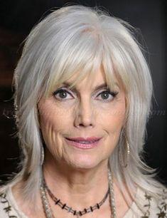 coiffure femme 60 ans cheveux longs Coupe de cheveux