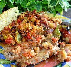 Creole Pork Chops And Cornbread Casserole Recipe - Food.com