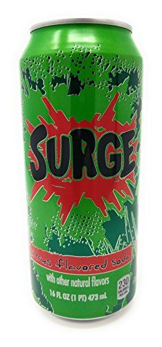 Surge Citrus Flavored Soda 16fl oz. 12 cans >>> Learn more by visiting the image link.