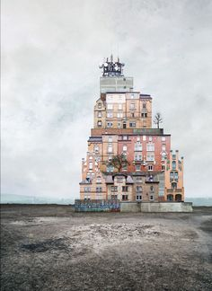 Surreal Homes by Matthias Jung