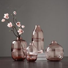 Minimalist clear glass vaseOur minimalist clear glass vases perfectly match the current Nordic design trends. Our modern glass table vases are made of pure glass with clear and slim lines and are available in three