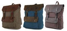 mochila vintage de hombre