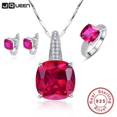 Exquisite Fashion Rose Red Ruby Hope of Love Wedding Bridal Earrings& Necklaces& Rings Jewelry Sets Sterling Silver 925,   Engagement Rings,  US $75.51,   http://diamond.fashiongarments.biz/products/exquisite-fashion-rose-red-ruby-hope-of-love-wedding-bridal-earrings-necklaces-rings-jewelry-sets-sterling-silver-925-2/,  US $75.51, US $41.53  #Engagementring  http://diamond.fashiongarments.biz/  #weddingband #weddingjewelry #weddingring #diamondengagementring #925SterlingSilver #WhiteGold