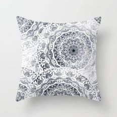BOHOGIRL MANDALAS Throw Pillow