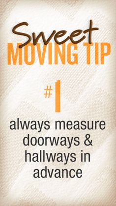 #VCFisSWEET because we give you great moving tips! Like this one!