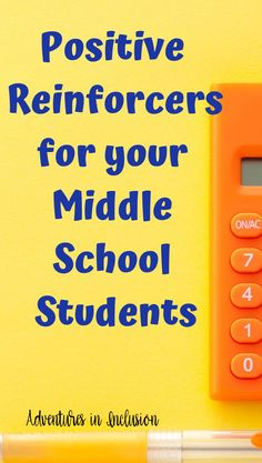Great positive reinforcers to use in your middle school classroom   Classroom Management   Adventures in Inclusion   PBIS Middle School Behavior, Middle School Hacks, Education Middle School, Middle School Classroom, Middle School Rewards, Middle School Counselor, High School, Math Education, Special Education