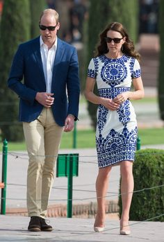 Pin for Later: The Duke and Duchess of Cambridge Conclude Their Tour of India With a Stop at the Iconic Taj Mahal