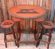 Cowboy coffee table