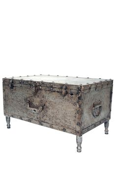 Industrial Metal Floor Trunk