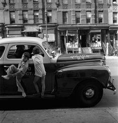 Fred Stein - Police Car, New York, 1942