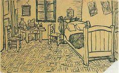 Las 5 versiones del cuarto de Van Gogh y la inspiración que viene de la soledad.