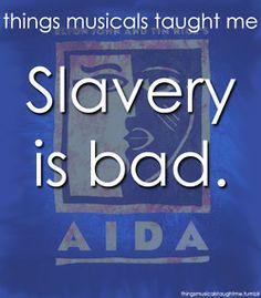Slavery Is Bad.