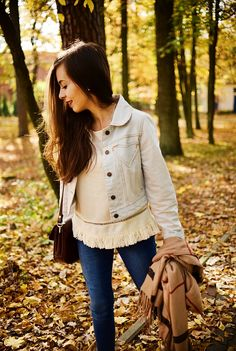 Fall outfit, denim jacket and pants. #ootd #outfit #look #denim #shein #fall #autumn