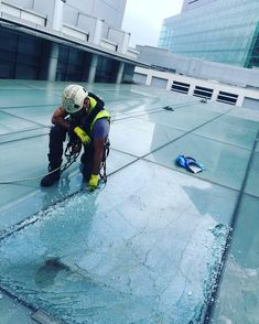 The Comprehensive Group have experts abseil technicians who can replace single as well as multiple glass structures. Their experienced technicians conduct high-level glass replacements to curtain walling, building facades, atriums and glass roofs. Perfect Image, Perfect Photo, Love Photos, Cool Pictures, Window Cleaning Solutions, Glass Structure, Building Facade, Glass Roof, West Midlands