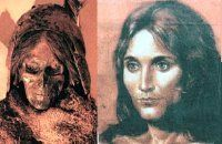 Love the facial reconstruction on this shamaness mummy from C Asia/W China.  Definitely of European ancestry.