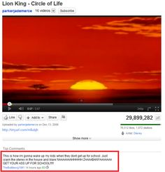 OMG!!! I wish my parents did this instead of the overture of Phantom of the Opera! <<< This comment!