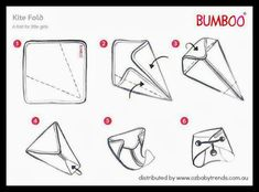 I Dream of Diapers: How to Fold Flat Cloth Diapers
