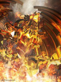 Slifer the Sky Dragon from Yugioh by Kazuki Takahashi