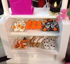 Part of our doll sweet shop