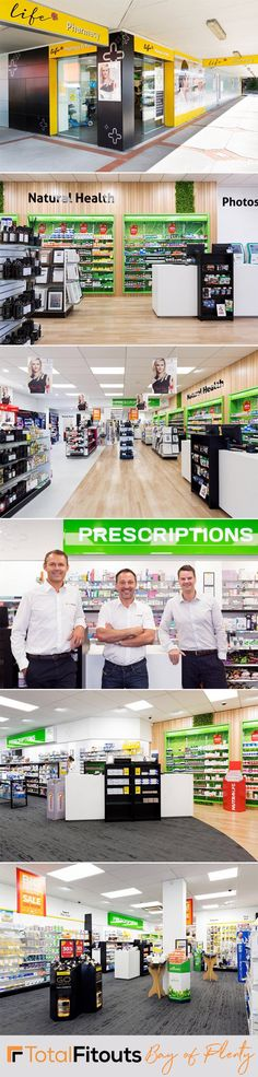 This shop fit for Life Pharmacy was completed by our Bay of Plenty shopfitters. The client's goal was to breath new life into into this tired, old pharmacy, and for it to be turned into a bright space with more merchandise room. Retail Shop, Pharmacy, New Life, Tired, Goal, Bright, Space, Fit, Projects
