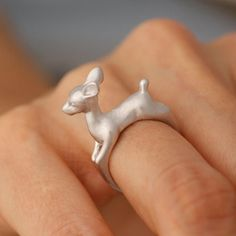 Oh deer... you are so silly!  Why spend big bucks or tons of doe on an expensive ring to let someone know how fawn'd you are of them?  Our unique Be a Deer Ring shows how much you care, and in a totally adoeable way!  Gift this vintage styled Bambi to the object of your affection, and let it prance its way into their heart!