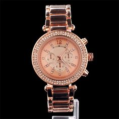 Hot Sale Brand Diamond Crystal Stainless Steel Analog Quartz Wrist Watch Hours for Women Female Ladies Gold Silver Rose Gold  Price: US $14.79  Sale Price: US $7.69  #dressional