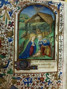 Nativity ~ Book of Hours ~ Lyons