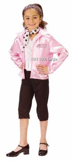 Adult Grease Pink Ladies Jacket Medium #halloween #costume - greaser halloween costume ideas