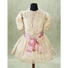 Antique Doll/Children's Clothing II / View Catalog Item - Theriault's... ❤ liked on Polyvore