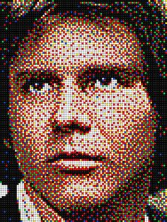 Han Solo - Star Wars with Pixel Art Quercetti