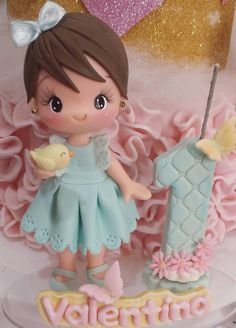 Porcelain Manufacturers In China Cute Polymer Clay, Polymer Clay Miniatures, Polymer Clay Creations, Box Surprise, Fairy Birthday Cake, Fondant Animals, Fondant Cupcake Toppers, Bird Party, Diy Gift Box