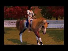 Sims 3 - The Jewel Stable's Horses 2013 - YouTube