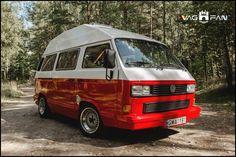 VW Transporter T3 Camper Caravelle