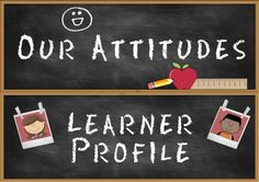 Headers for IB PYP Classroom Attitudes Set & Learner Profi Ib Classroom, Bilingual Classroom, Classroom Environment, Classroom Crafts, Classroom Ideas, Ib Bulletin Boards, Creative Bulletin Boards, Ib Attitudes, Ib Learner Profile