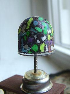 small world land: Gumball Dome Tiffany Lamp