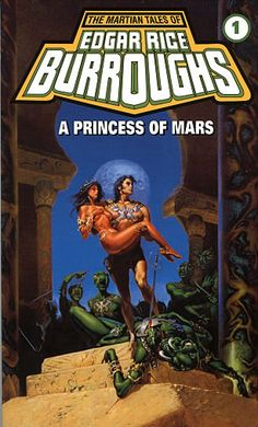 I must be one of the few people who've read the whole series! A  Princess of Mars - Edgar Rice Burroughs