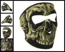 Skull Neoprene Face Mask