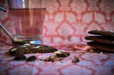 Carob and Hazelnut Cookies