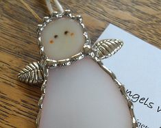 Stained Glass Angel Suncatcher Ornaments by PineTreeGlassWorks