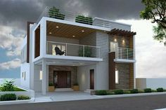 800 sqft 2 bhk Villa Builder Project Other 2 Storey House Design, Duplex House Design, Duplex House Plans, House Front Design, Small House Design, Modern House Plans, Home Design, Independent House, Villa Design
