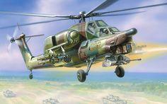 Mil Mi-28A - Rusia