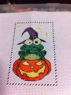 Another halloween cross stitch lol