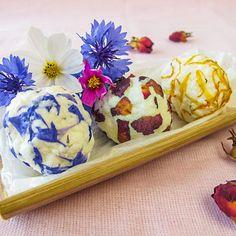 Rezept: Badetrüffel selber machen - sie machen jedes Bad zu einem Fest für die Sinne und sind eine schöne Geschenkidee