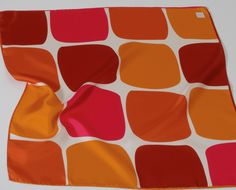 Pool Orange Carré de soie