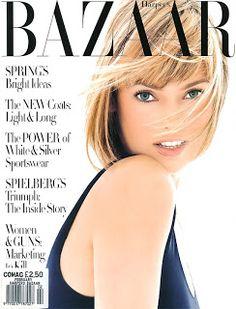 Harpers Bazaar February 1994, Linda Evangelista by Patrick Demarchelier.
