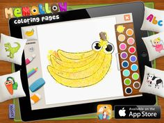#Memollow #Coloring Pages - #creative #app for #kids made by #KiooiK games