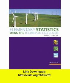 elementary statistics solutions manual pdf